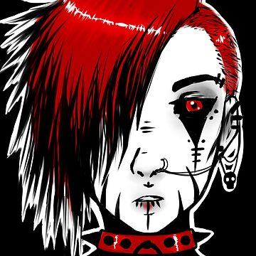Strawberry goth by Ravenous-Decay