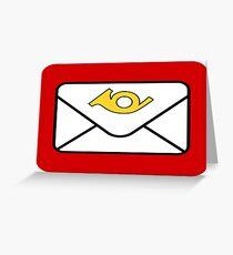 LEGO classic post logo Greeting Card