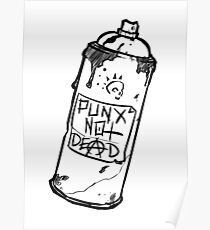 Spray Can - PUNX NOT DEAD Poster