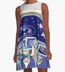 Spaceship A-Line Dress
