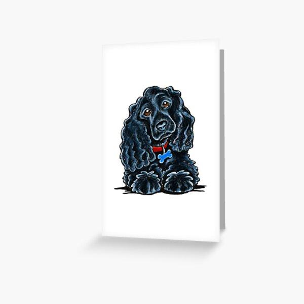 Cocker Spaniel Fitz Greeting Card