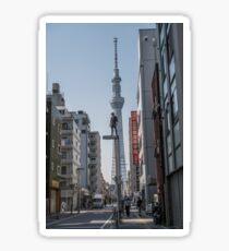Tokyo Sky Tree - Jason Paul  Sticker