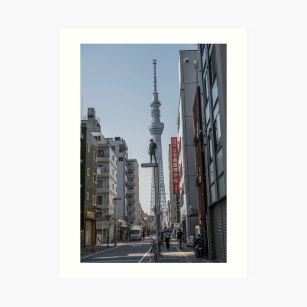 Tokyo Sky Tree - Jason Paul  Art Print