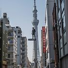 Tokyo Sky Tree - Jason Paul  by ediphotoeye