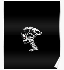 XXXTENTACION - SKULL [WHITE DESIGN] Poster