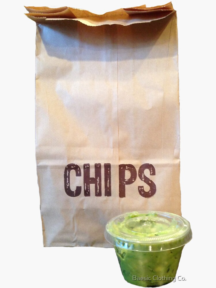 Chipotle Chips & Guac by BaesicClothing