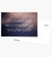 Feyre Darling Postcards