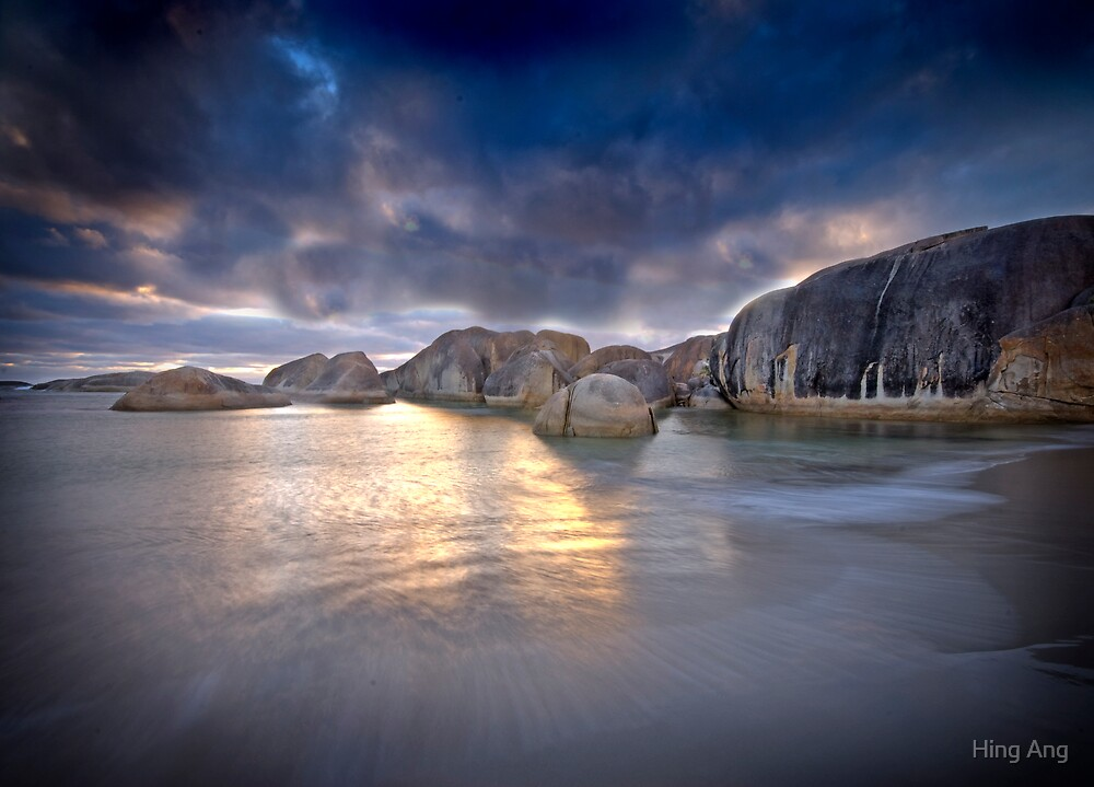 Elephant Rocks, Denmark WA by Hing Ang