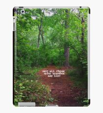 Wander Forest Clearing iPad Case/Skin