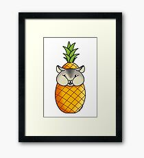 Living the tropical dream #RBSTAYCAY Framed Print