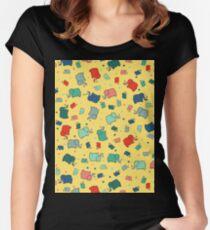 Prehistoric Disco II Women's Fitted Scoop T-Shirt