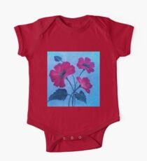 Poppies One Piece - Short Sleeve