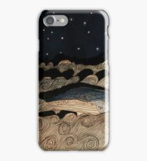 Midnight Whale iPhone Case/Skin