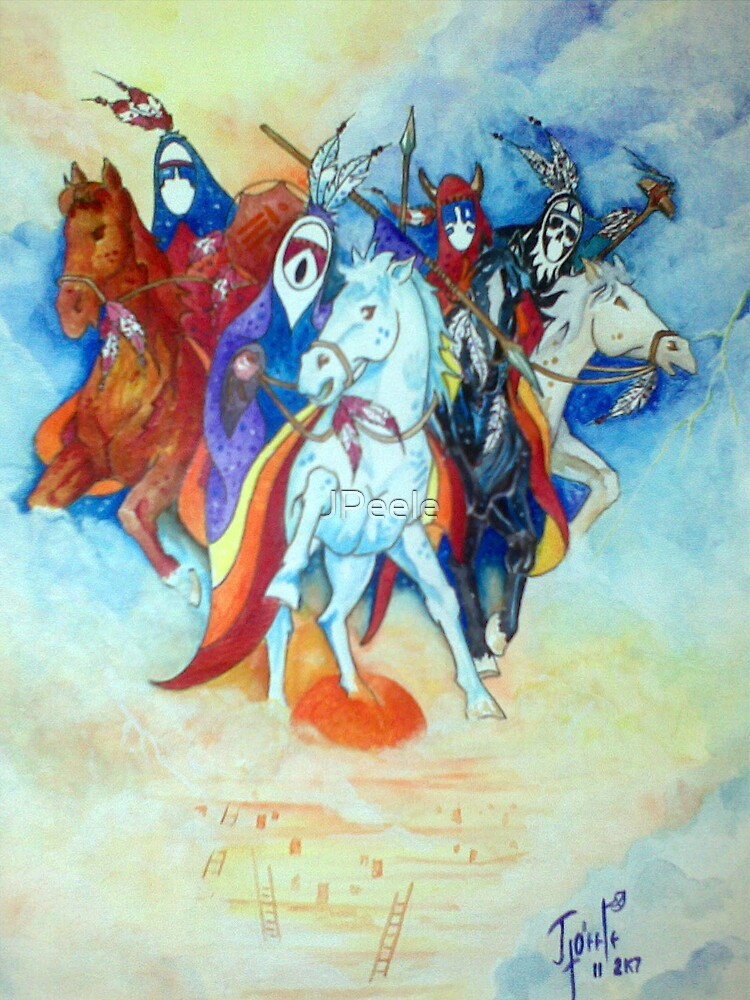 The Four Horsemen of the Apocalypse  by James Peele