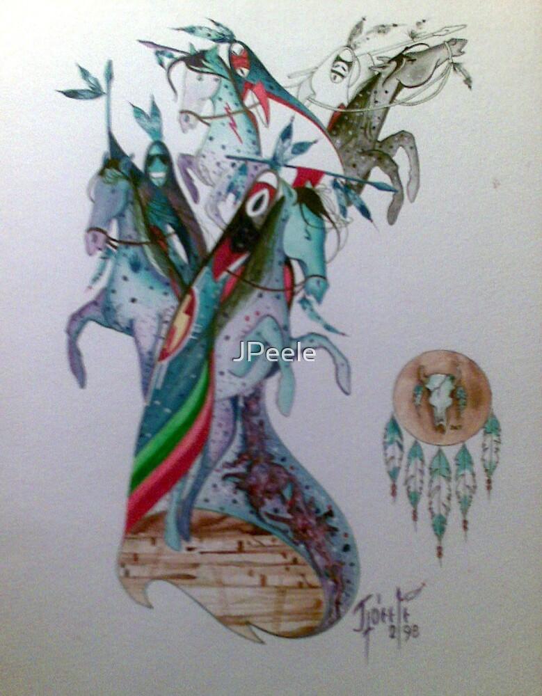 The Four Horsemen  by James Peele