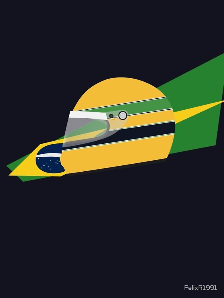 80s Brazilian racing driver helmet by FelixR1991