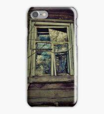 Damaged window iPhone Case/Skin