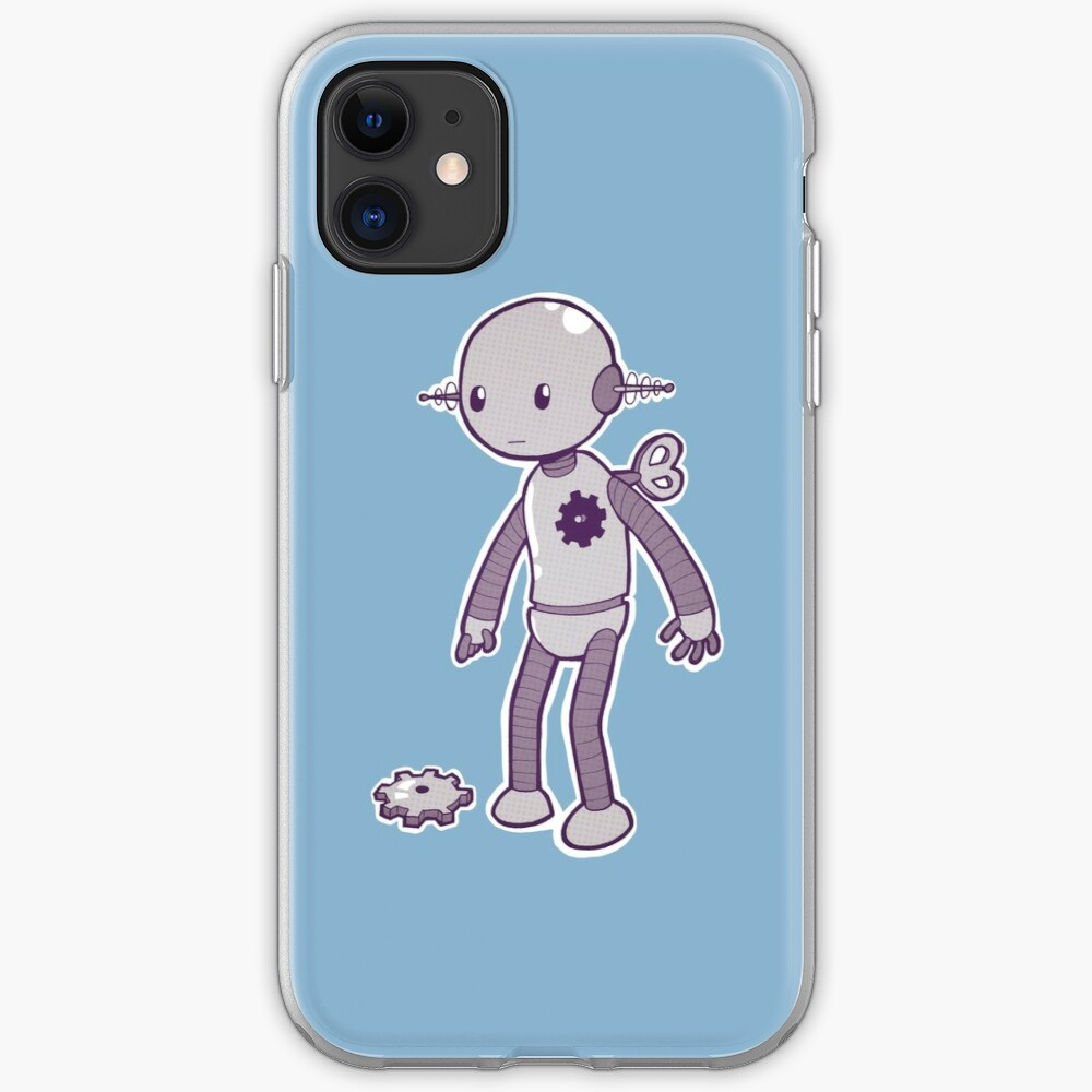Lonely Robot iPhone Case & Cover