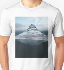 Moody Mountain in Iceland - Landscape Photography Unisex T-Shirt