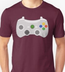 Video Game Console Xbox 360 Controller Gamepad Unisex T-Shirt