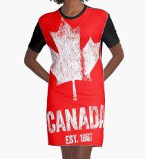 Canada - Established 1867 Graphic T-Shirt Dress