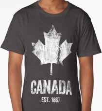 Canada - Established 1867 Long T-Shirt