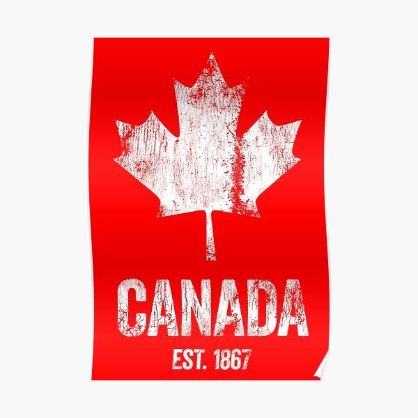 Canada - établi en 1867 Poster