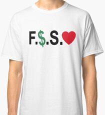 Fuck Money Spread Love [Black] Classic T-Shirt