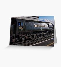 Tangmere At Whitstable Greeting Card