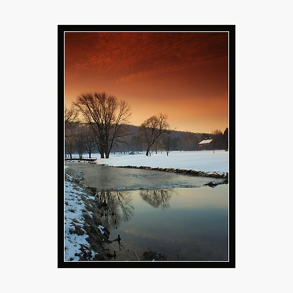 Morning On Saucon Creek #5 Photographic Print