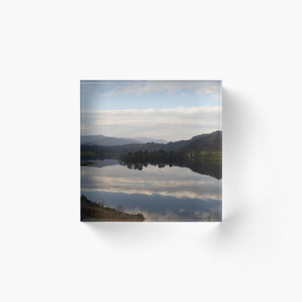 Rydal Water - Lake District Acrylic Block