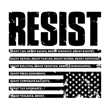 Resist by f22design