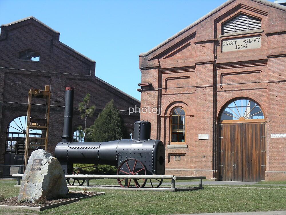 photoj Tas ' Beaconfield Mine's ' by photoj