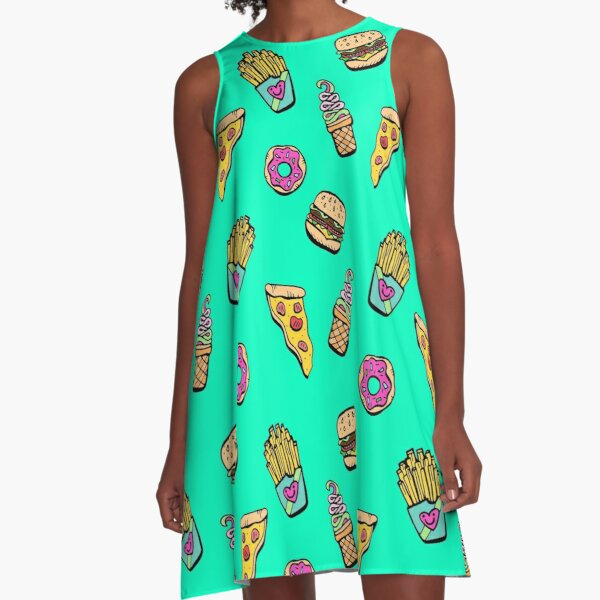 Foodie for Yo Bootie A-Line Dress