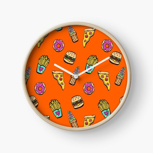 Foodie for Yo Bootie Clock