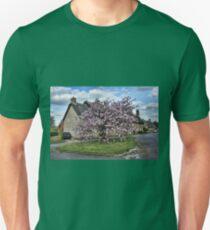 Ashby St Ledgers thatched cottages Unisex T-Shirt