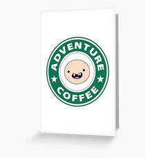 Adventure Finn Coffee Greeting Card