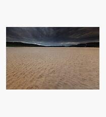 stormy skies, torrisdale Photographic Print
