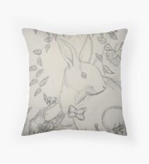 Peace in the Forest Throw Pillow