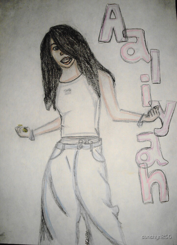 Tribute to Aaliyah by sunshyn256