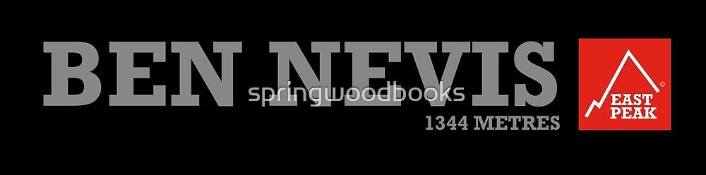 East Peak Apparel - Ben Nevis by springwoodbooks