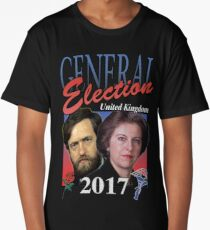 GENERAL ELECTION 2017 VINTAGE TSHIRT Long T-Shirt