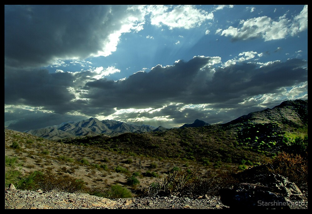 Middle of the Desert by StarshinePhoto