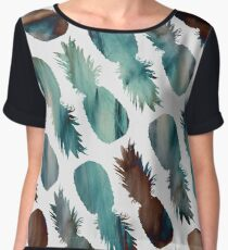 PINEAPPLE-PALOOZA Women's Chiffon Top