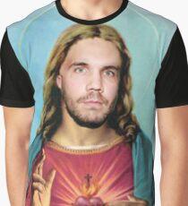 Teezus Sacred Heart  Graphic T-Shirt
