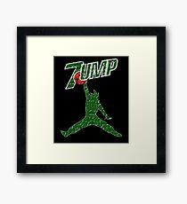 7UMP SPREAD Framed Print