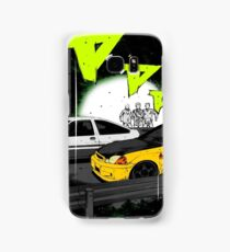 Initial D Civic vs AE86 Samsung Galaxy Case/Skin