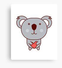 Cute Koala for Kids Canvas Print