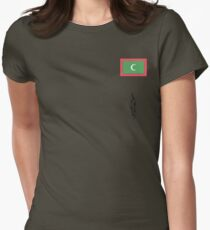 Maldives Womens Fitted T-Shirt