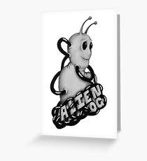 Alien OG Greeting Card